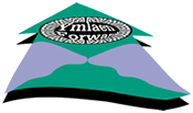 Llandysul and Pont-Tyweli Ymlaen logo - the town and village meeting over the river teifi