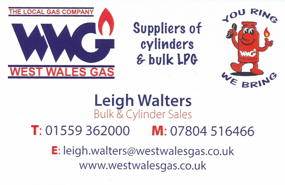 West Wales Gas suppliers of cylinders and bulk LPG