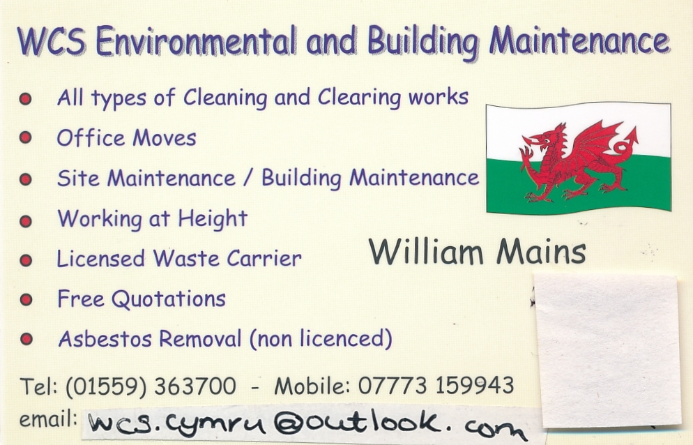 WCS Environmental and Building Maintenance