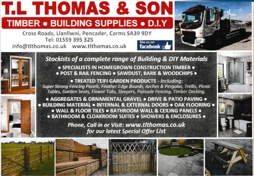 T L Thompson: Timber; building supplies